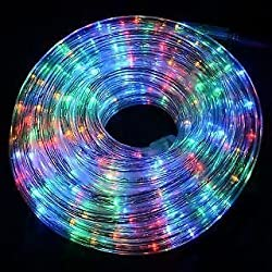 Mufasa Multi Color Led Rope Light (40 Feet)