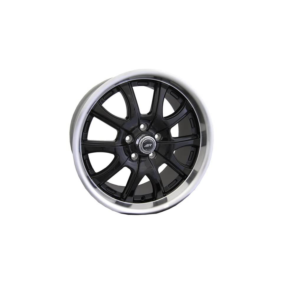 American Racing Redline 20x10 Black Wheel / Rim 5x4.75 with a 41mm Offset and a 72.70 Hub Bore. Partnumber AR3762163