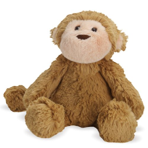 Mocha Monkey Small - Lovelies - Stuffed Animal by Manhattan Toy Co. (151300)