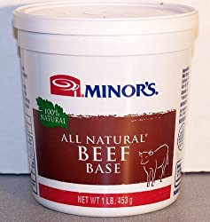 Minor's (New Formula) All Natural Beef Base