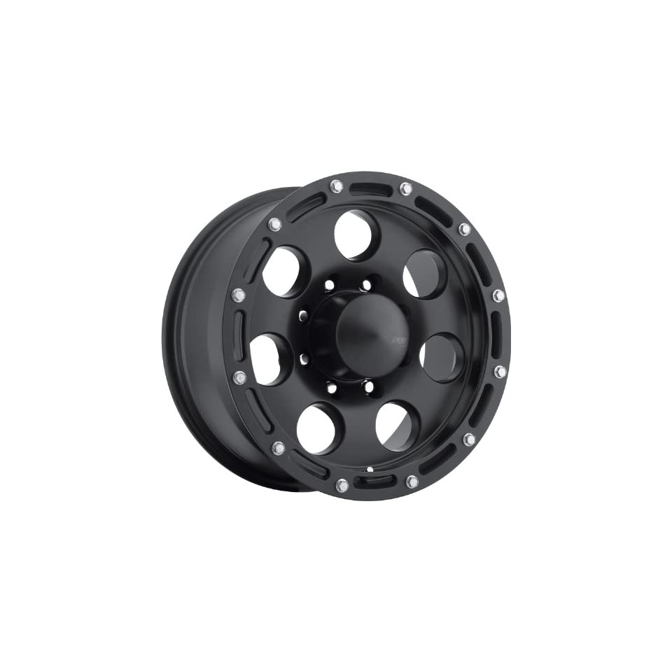 American Eagle 137 16 Matte Black Wheel / Rim 8x170 with a  4mm Offset and a 130.18 Hub Bore. Partnumber 13797887
