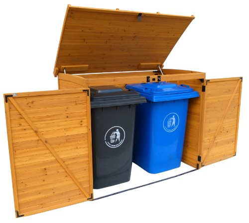 Best Trash Can Storage Sheds To Keep Critters Away From