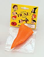 NEW CARROT NOSE SNOWMAN XMAS FANCY DRESS ACCESSORY