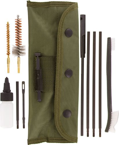 SE 10 pc Rifle/Gun Cleaning Kit