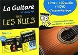 echange, troc Mark Philipps, Jon Chappell, Arlen Roth - La guitare pour les nuls : Coffret 1 livre + 1 cd + 1 dvd d'apprentissage (1DVD + 1 CD audio)
