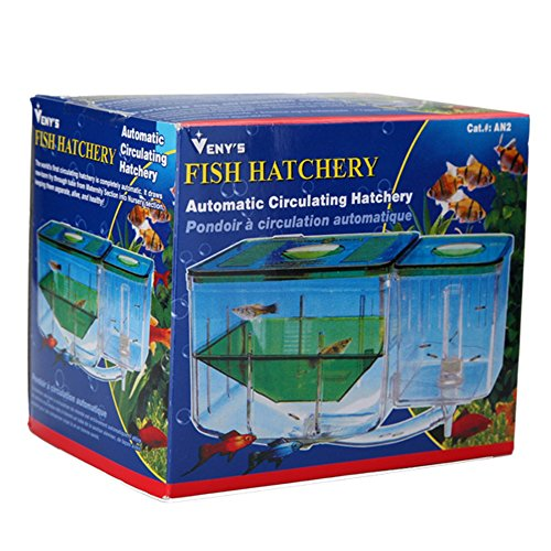 Aquarium breeding breeder hatchery box nursery fish house for Fish breeder box