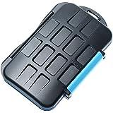 JJC MC-2 Multi boîtier pour carte mémoire Multi Memory Card Case Il est capable de stocker 4pcs Compact Flash (CF) et 8pcs Secure Digital (SD)