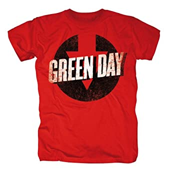 Green Day Band T-Shirt - Down Time (L)