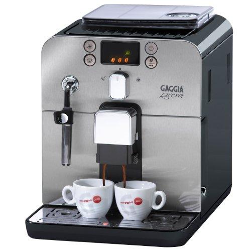 Gaggia Brera Superautomatic Espresso Machine, Black