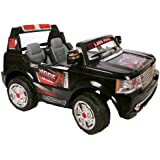 Land Rover Style 2 Seater 24V Electric Ride on Jeep with Remote - Black - New