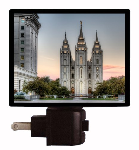 Mormon Night Light - LDS Temple - Salt Lake City
