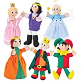 Royal Court Hand Puppets, Set Of 6
