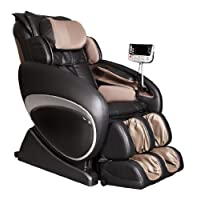 Osaki OS-4000 Zero Gravity Massage Chair Blk Recliner Deluxe S-track With Remote