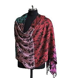 Weavers Villa Pure Viscose Multi Color Stripes Stole
