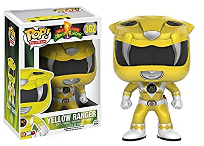 Funko POP TV: Power Rangers - Yellow Ranger Action Figure by Funko
