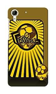 KnapCase Football Designer 3D Printed Case Cover For HTC Desire 728