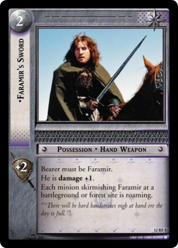 купить LOTR TCG BR BLACK RIDER FARAMIR'S SWORD 12RF5 дешево