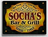 Socha&#039;s Bar &amp; Grill 14&#039;&#039; x 11&#039;&#039; Collectible Stretched Canvas