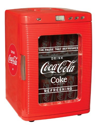 Great Features Of Koolatron KWC-25 Coca-Cola 28-Can-Capacity Portable Fridge with LED Display