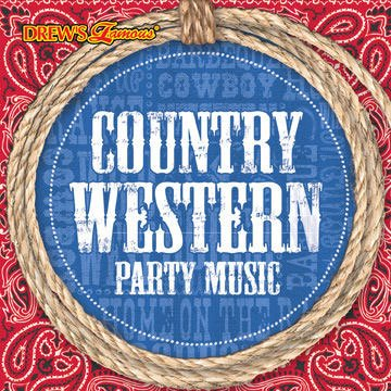 Country Western Party Music CD