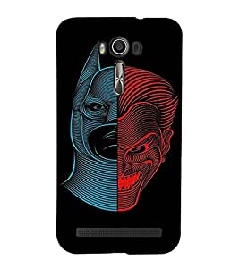 EPICCASE Two sides of Man Mobile Back Case Cover For Asus Zenfone 2 Laser ZE601KL / Asus Zenfone 2 Laser ZE601KL (6 Inches) (Designer Case)