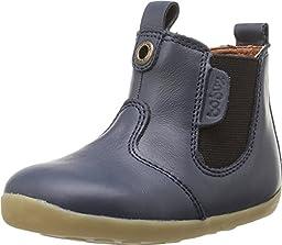 Bobux Kids Unisex Step Up Jodphur Boot (Infant/Toddler) Navy Boot 18 (US 2.5 Infant) M