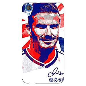 Jugaaduu Manchester United Beckham Back Cover Case For HTC Desire 820 Dual Sim