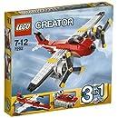 Lego Creator - 7292 - Jeu de Construction - L'Avion à Double Hélices
