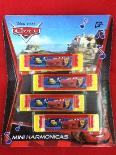Disney Cars Mini Harmonicas