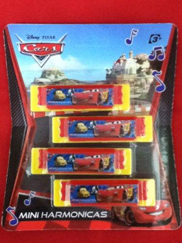 Disney Cars Mini Harmonicas