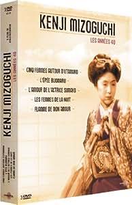 Coffret mizoguchi : l'epee de bijomaru / 5 femmes autour d'utamaro / l'amour de l'actrice sumako / les femmes de la nuit