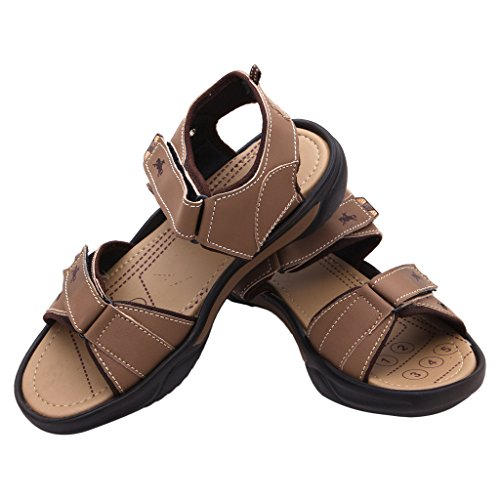 FBT Men's 2304 Beige Casual Sandals