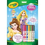 Coloring & Activity Pad With Markers-Disney Princesses Coloring & Activity Pad With Markers-Disney