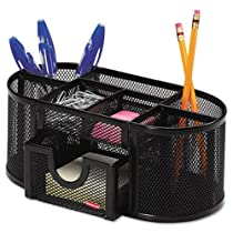 4 Compartments,Rolodex Mesh Pencil Cup Organizer