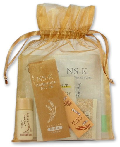 Komenuka Bijin 10-Product Trial/Sample Set from Rice Bran