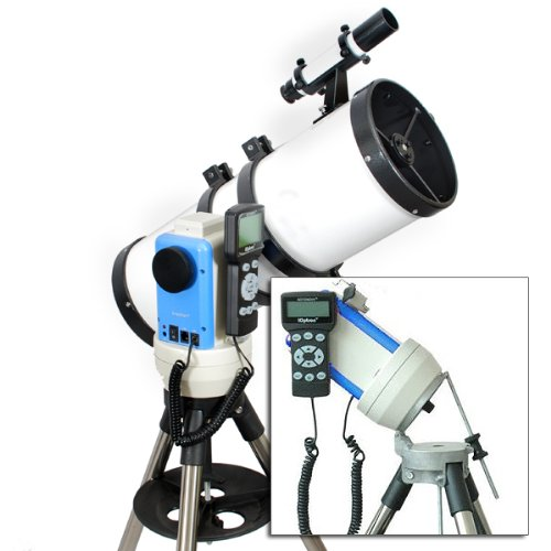 "Twinstar White 6"" Ioptron Computerized Gps Equatorial Reflector Telescope"