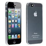 TRIXES Durchsichtige iPhone Silikon-H�lle zum Schutz von iPhone 5 5G 5S