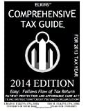 img - for Elkins' Comprehensive Tax Guide - 2014 Edition book / textbook / text book