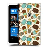 Head Case Chocolate Mint Ice Cream Pattern Back Case Cover For Nokia Lumia 800