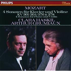 Mozart: 4 Violin Sonatas for Piano and Violin, Nos.18, 21, 24 & 26