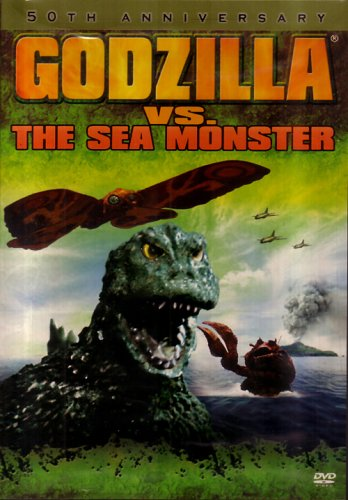 Cover art for  Godzilla vs. the Sea Monster