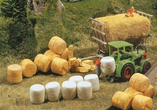 Faller 180562 Silo And Straw Bales