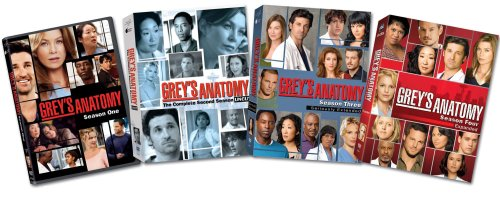 Grey's Anatomy: Seasons 1-4