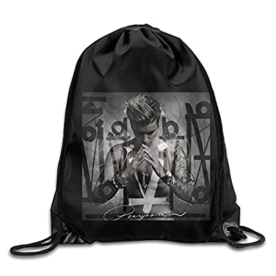Drawstring Backpack Bag Justin Bieber Purpose