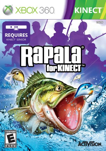Rapala for kinect xbox 360 new for Xbox fishing games