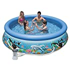 Intex 10ft X 30in Ocean Reef Easy Set Pool Set