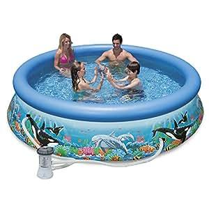 Intex 10ft x 30in ocean reef easy set pool - Intex 10ft pool ...