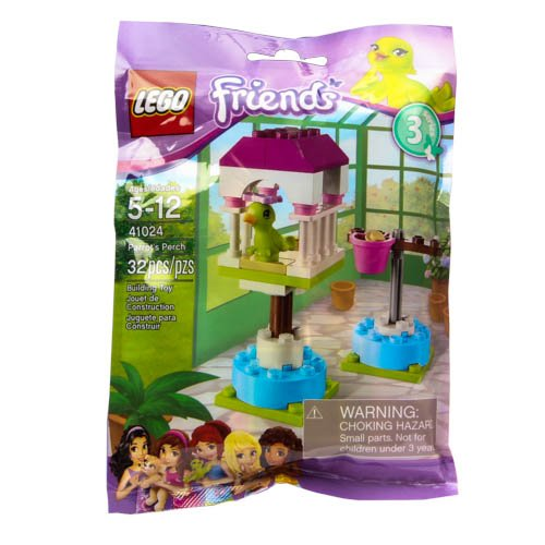 LEGO Friends Series 3 Animals - Parrot's Perch (41024) - 1