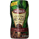 Emerald Cocoa Roast Almonds with Dark Chocolate 7 pks./box (4 pack)
