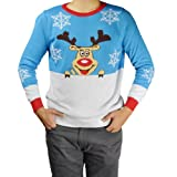 Baleaf Suéter Nueva Moda de Navidad para Adultos Talla L